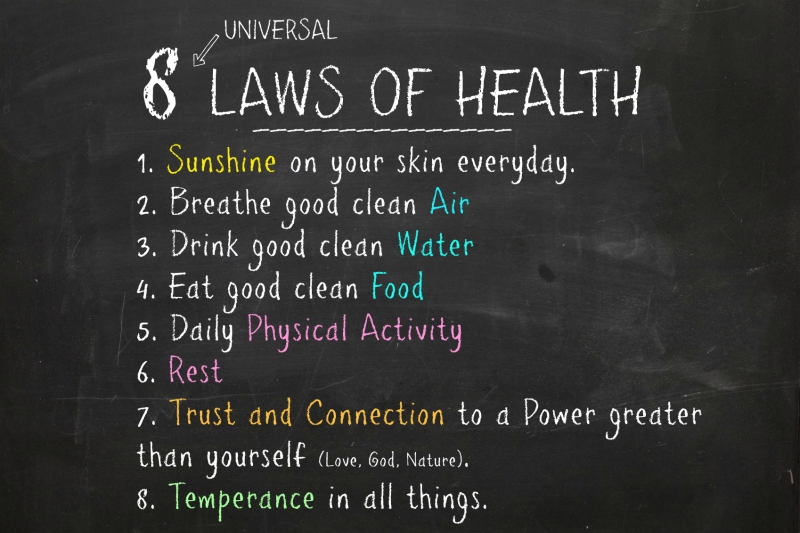 8 Laws of Health